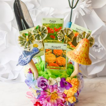 Mother's Day Garden Gift Basket