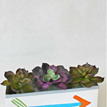 Cereal Box Planter