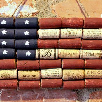 Cork American Flag