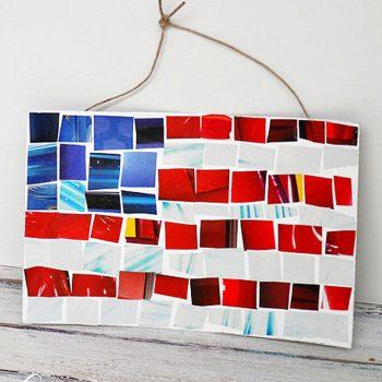 Magazine Mosaic Flag