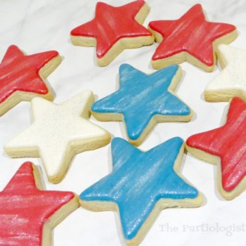 Easy Sparkle Star Cookies