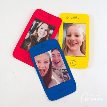 Cell Phone Selfie Card for Father's Day