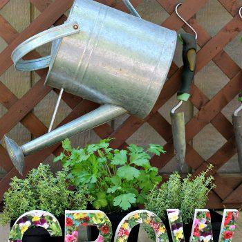 Grow Garden Sign