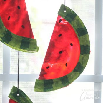 Watermelon Sun Catchers