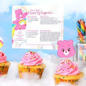 Care Bears Cupcakes