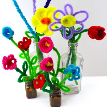 Easy Pipe Cleaner Flowers
