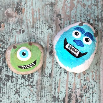 Monsters, Inc. Painted Rocks