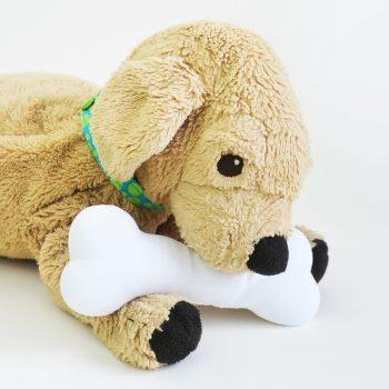 Stuffed Dog Bone
