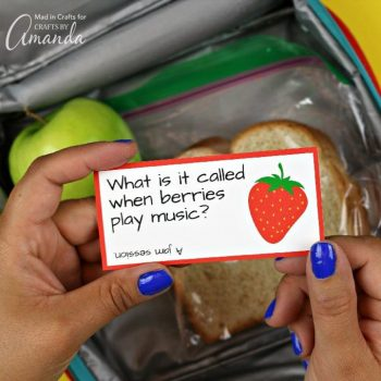Lunchbox Joke Cards
