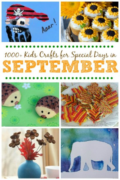 Kids Crafts For Special Days In September Fun Family Crafts