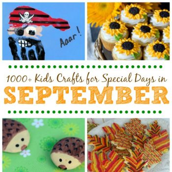 Kids Crafts for Special Days in September