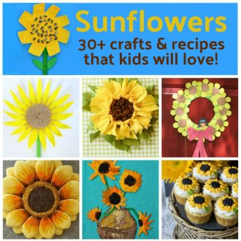 Sunflower Crafts and Recipes