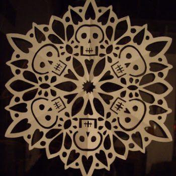 Skull Snowflake