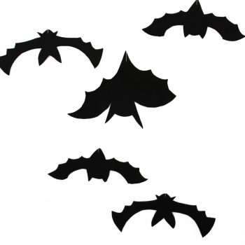 Hanging Bats Halloween Decorations