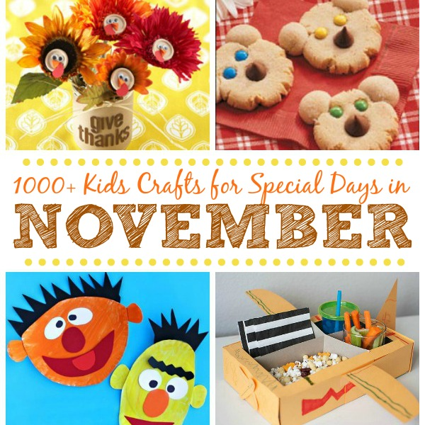 Kids Crafts For Special Days In November Fun Family Crafts