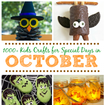 Kids Crafts for Special Days in October