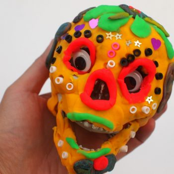 Playdough Sugar Skull