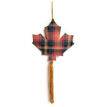 Printable Canadian Maple Leaf Ornament