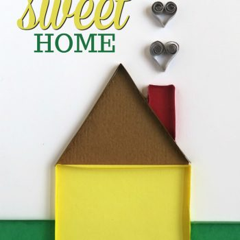 Home Sweet Home Quilled Card