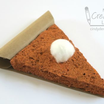 Cinnamon-Scented Pumpkin Pie Ornament