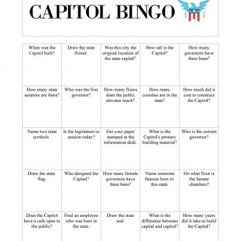 Capitol Bingo