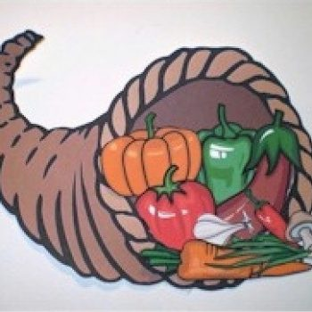 Printable Thanksgiving Cornucopia