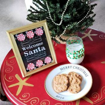 Printable Welcome Santa Sign