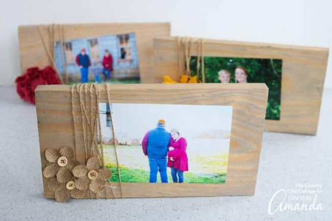 Scrap Wood Frames Fun Family Crafts