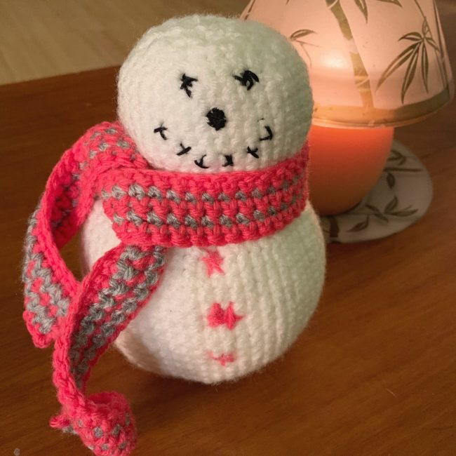 Center Amigurumi Snowman Pikachu Plush Toy knitted Doll Christmas ... | 650x650