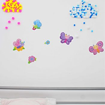 Pom Pom Cloud Wall Decor