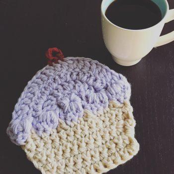 Crochet Cupcake Potholder