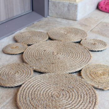 Coiled Rope Rug
