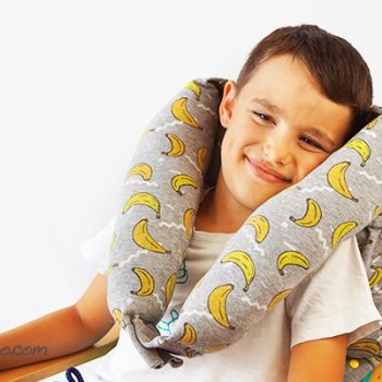 Upcycled Sweatshirt Neck Pillow
