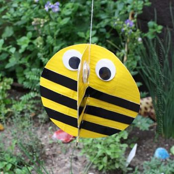 Duct Tape Twirling Bee