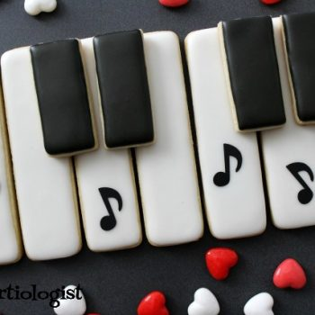 Music Notes Cookie Platter
