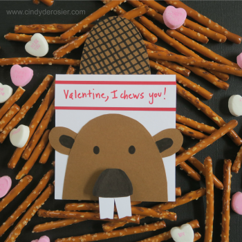 "Beaver Valentine – ""I Chews You!"""