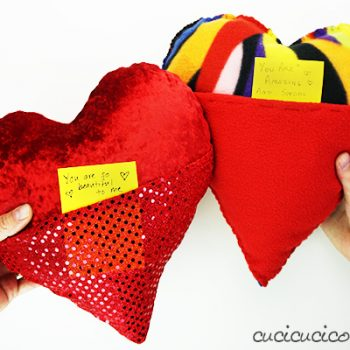 Pocket Heart Pillow
