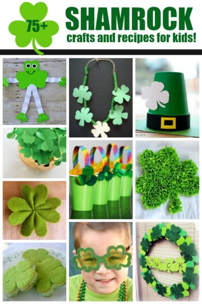 Shamrock Crafts And Recipes For Kids Fun Family Crafts