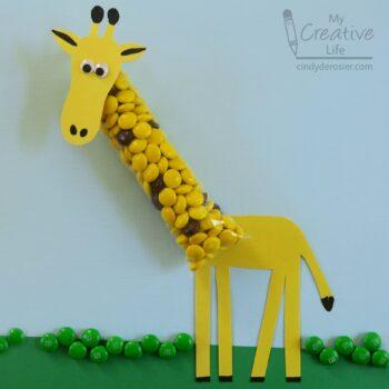 M&M Candy Giraffe