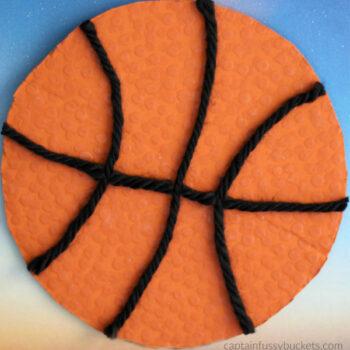 Textured Basketball Craft