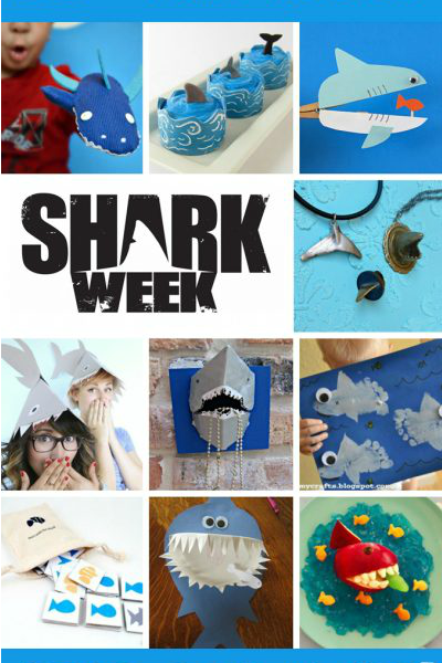 shark week crafts and recipes