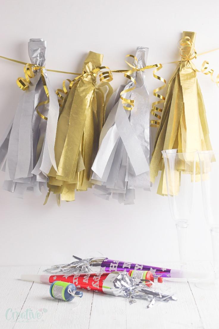 Tissue Paper Tassel Garland Fun Family Crafts
